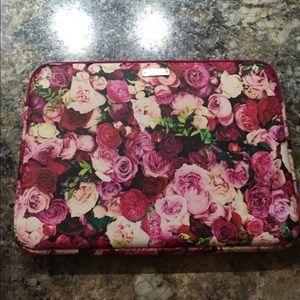 Kate Spade floral print laptop case